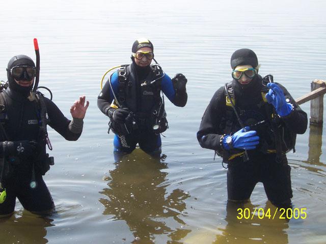 Jezioro Białe (kwiecień)