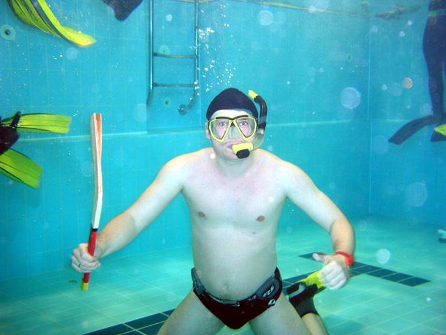 Podwodny hokej (styczeń)