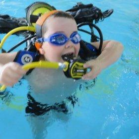 Zajecia basenowe kursu OWD